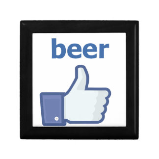 LIKE beer Small Square Gift Box