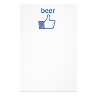 LIKE beer Stationery