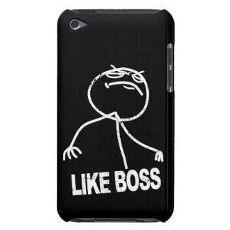 Like Boss meme Barely There iPod Cases