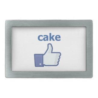 LIKE cake Belt Buckles