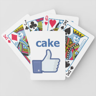 LIKE cake Bicycle Playing Cards