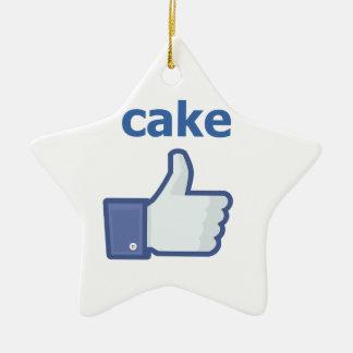 LIKE cake Christmas Ornament