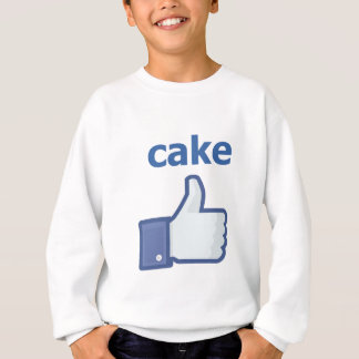LIKE cake Sweatshirt
