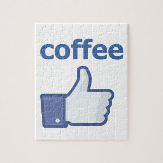 LIKE coffee Jigsaw Puzzle