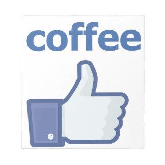 LIKE coffee Notepads