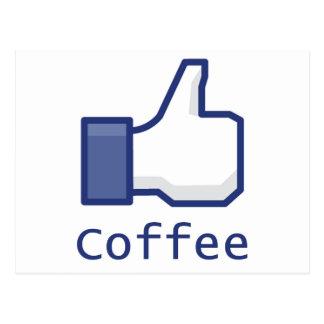 Like Coffee Postcard