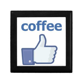 LIKE coffee Small Square Gift Box