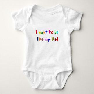 like dad baby shirt