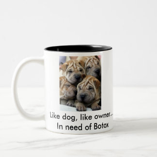 Like Dog, Like Owner Coffee Mug