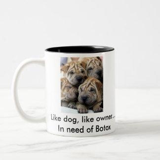 Like Dog, Like Owner Coffee Mug