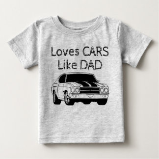 Like father, Like son Baby T-Shirt
