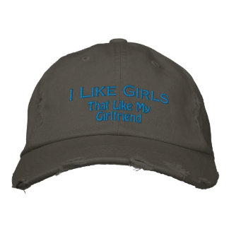 Like Girls Embroidered Hat