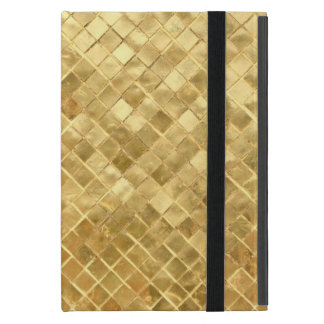 like gold, patterns cover for iPad mini