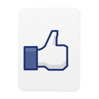Like Hand - FB Thumbs Up Magnet