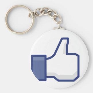 Like Hand Keychains