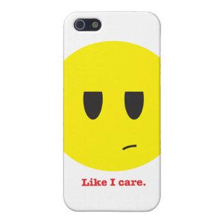 Like I care. iPhone 5/5S Covers