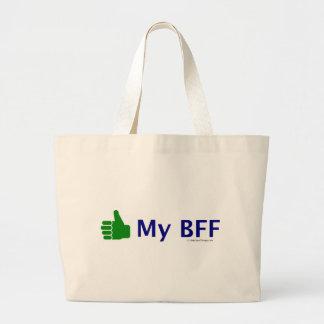 Like My BFF Canvas Bags