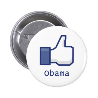 Like Obama 6 Cm Round Badge