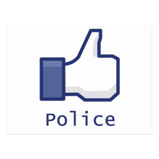 Like Police Postcard