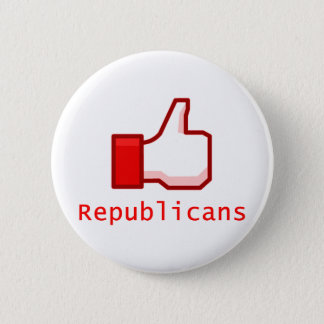 Like Republicans 6 Cm Round Badge