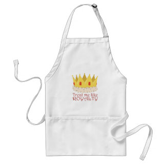 Like Royalty Standard Apron