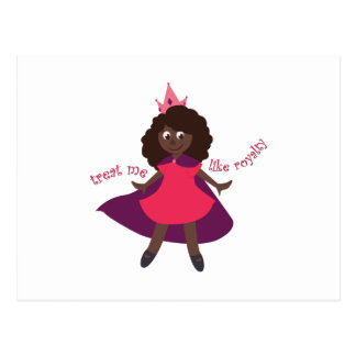Like Royalty Postcard