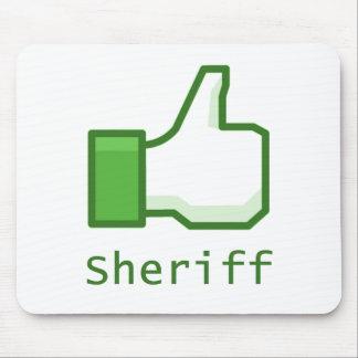 Like Sheriff Mouse Mat