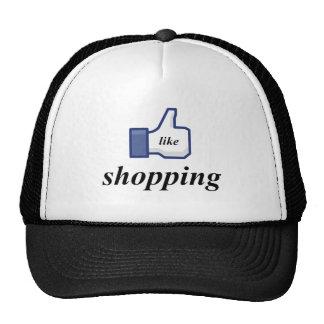 LIKE SHOPPING TRUCKER HATS