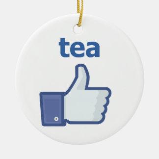 LIKE tea Christmas Ornament