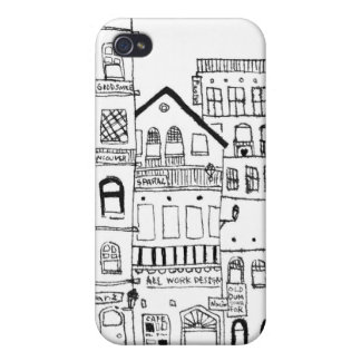 Like the town of somewhere No.3 iPhone 4/4S Case