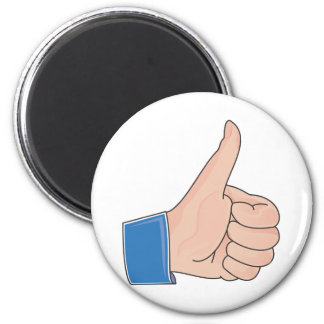 Like this Like That Real Productive Life 6 Cm Round Magnet