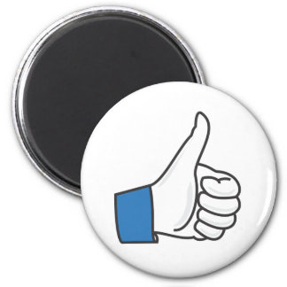 Like Thumb Up Fun 6 Cm Round Magnet