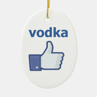 LIKE vodka Christmas Ornament
