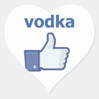 LIKE vodka Heart Sticker