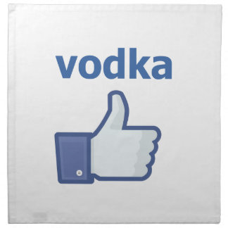 LIKE vodka Napkin