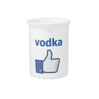 LIKE vodka Pitchers