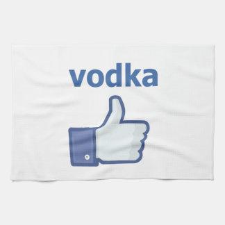 LIKE vodka Tea Towel