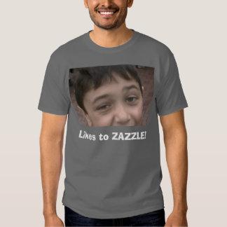 Likes to ZAZZLE! Tee Shirts