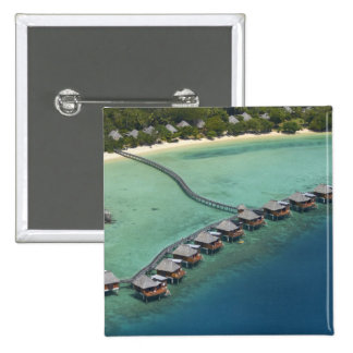 Likuliku Lagoon Resort, Malolo Island, Fiji 15 Cm Square Badge