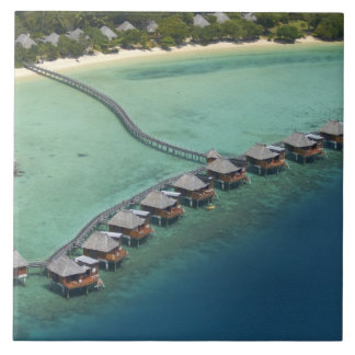 Likuliku Lagoon Resort, Malolo Island, Fiji Large Square Tile