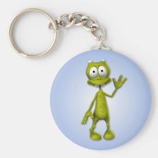 Lil Alien Keychain