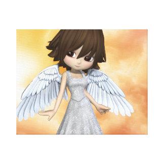 Lil Angels 2 Canvas Print