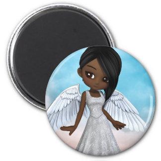 Lil Angels 6 Cm Round Magnet