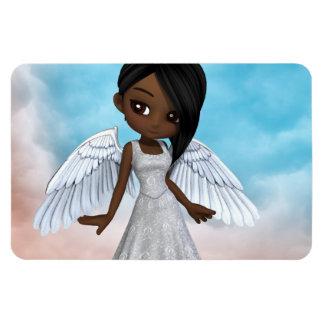Lil Angels Rectangular Photo Magnet