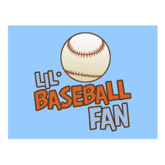 Lil' Babseball Fan Post Cards