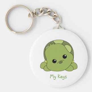 Lil Baby Turtle Key Ring