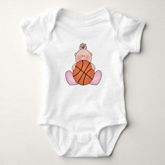 Lil Basketball Baby Girl Baby Bodysuit
