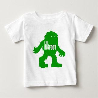 LI'L BIGFOOT Adorable Logo - Cute Green Sasquatch Baby T-Shirt