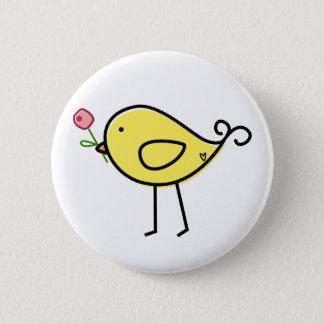 Lil' Birdie 6 Cm Round Badge