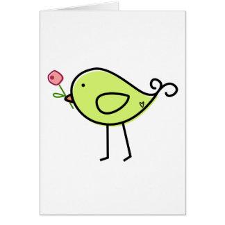 Lil' Birdie Card